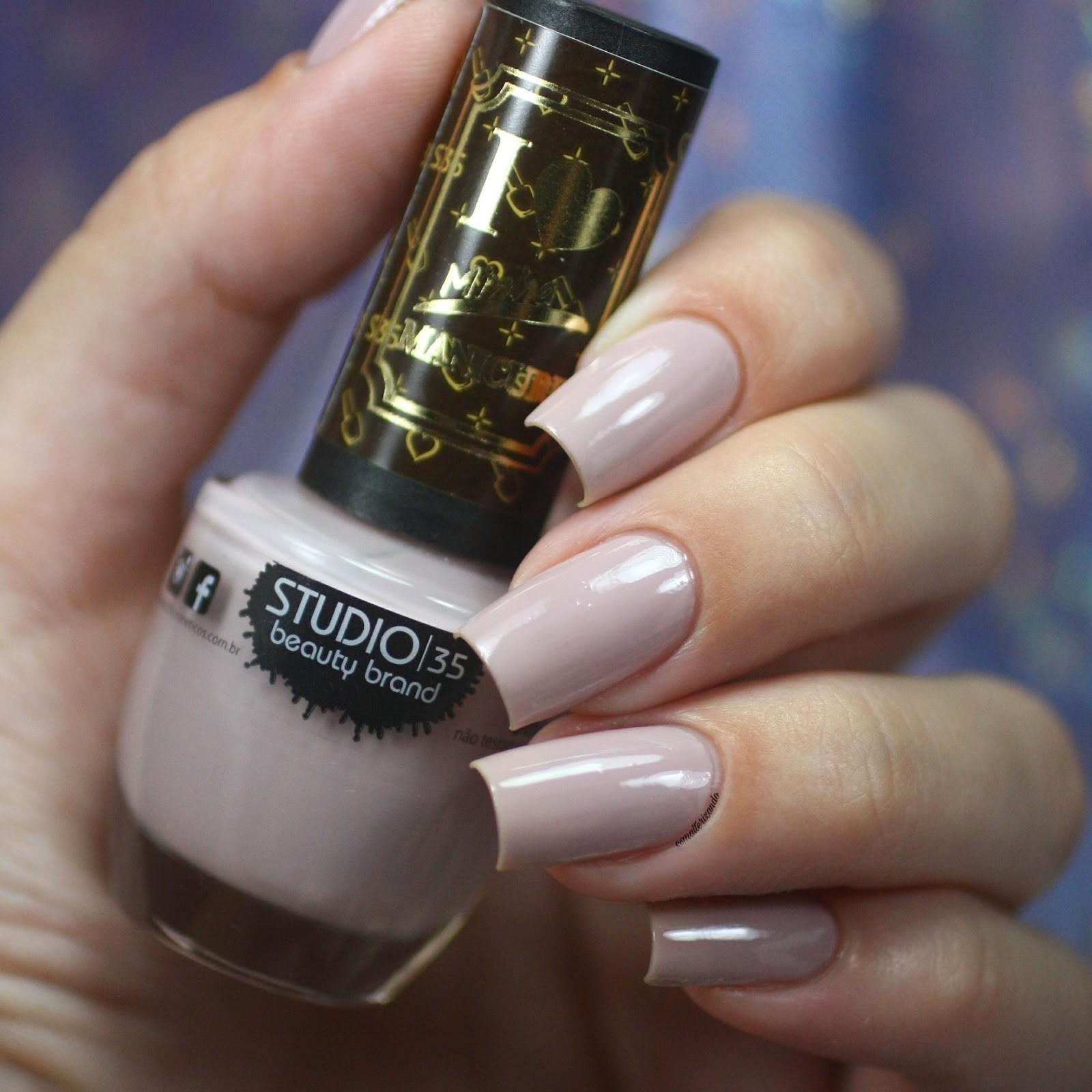 Esmalte Studio 35 #AnaDeslumbrante Coleção I Love Minha Manicure