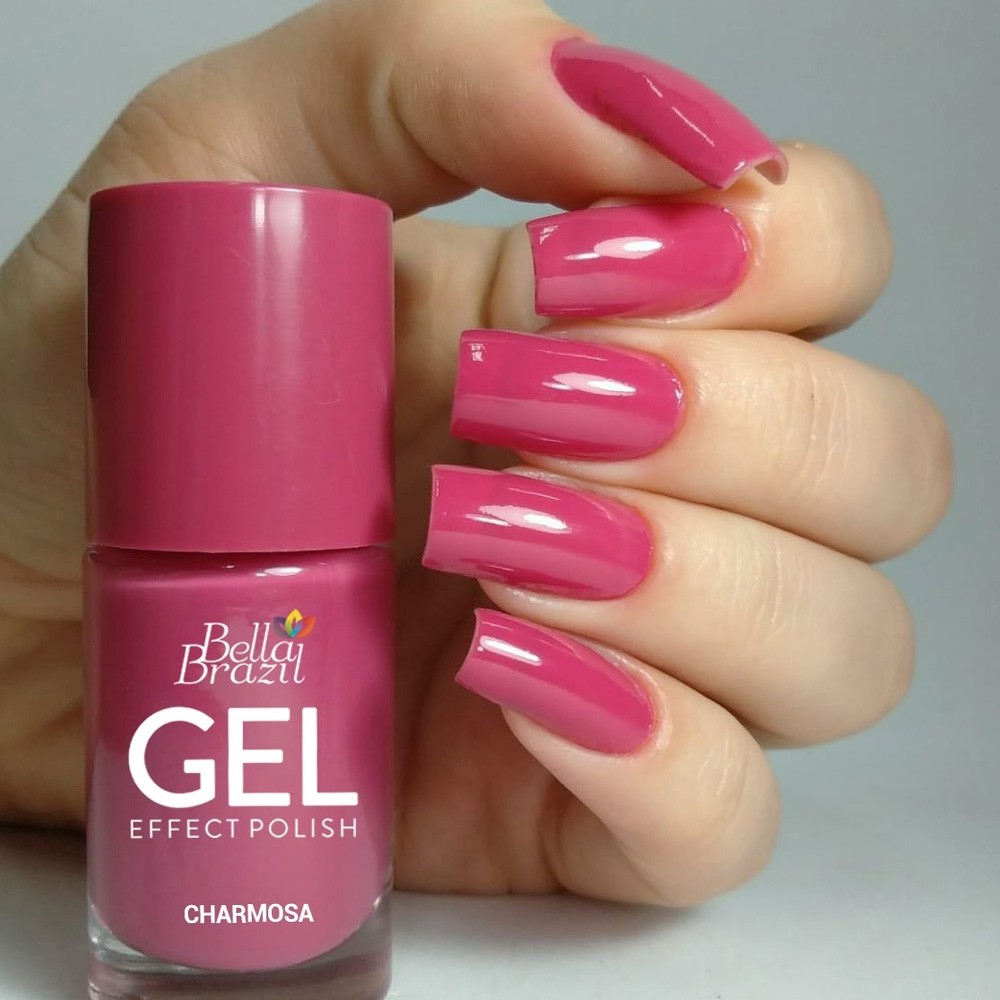 Esmalte Bella Brazil Gel Effect Charmosa