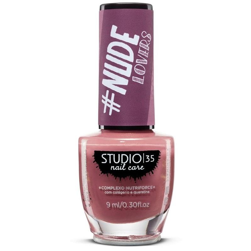 Esmalte Studio 35 #Comportada Coleção #NudeLovers