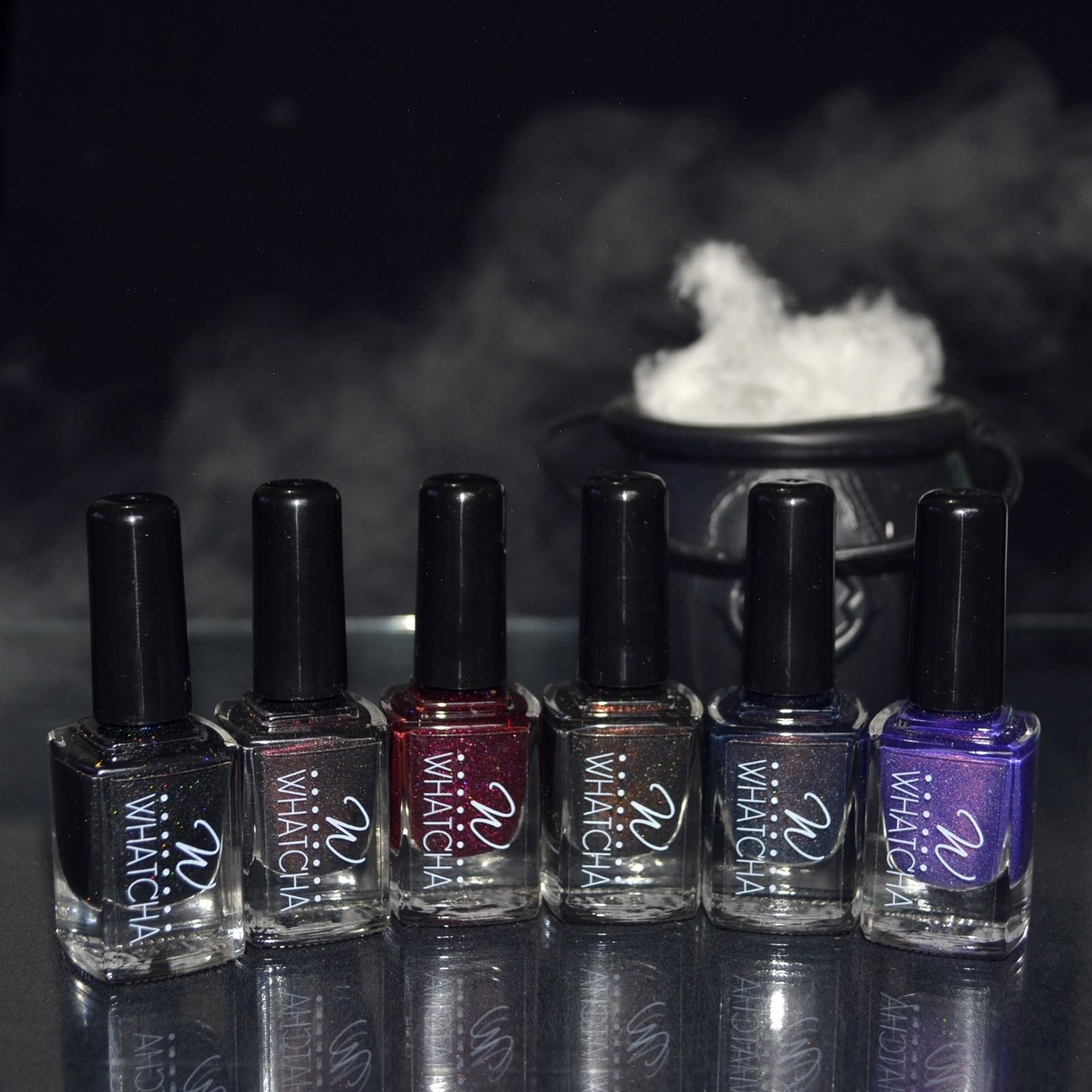 Coleção Dark Esmaltes Whatcha 5free – 6 cores