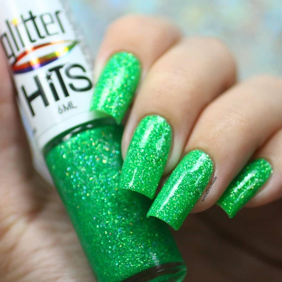 Esmalte Hits Draco Glitter Holográfico