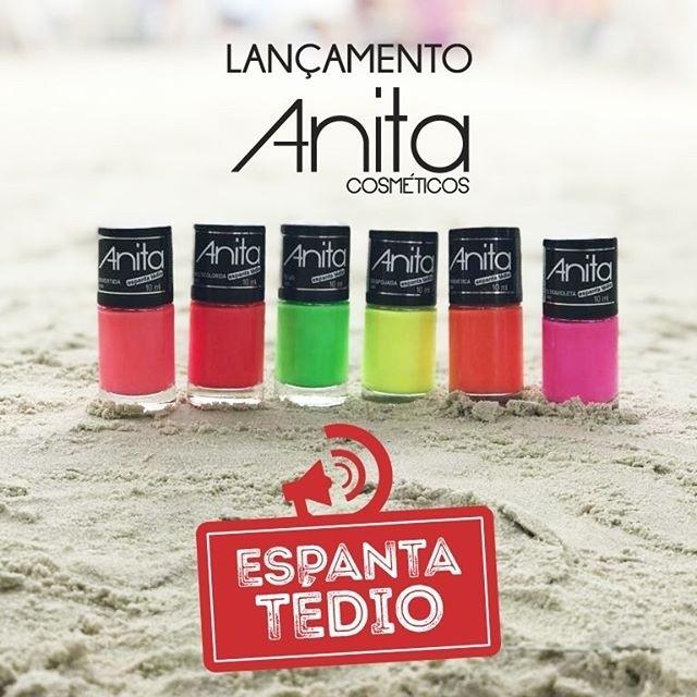 Esmaltes coleção Espanta Tédio Anita