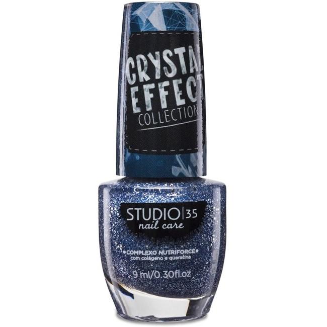 Esmalte Studio 35 #EstrelasnoCéu Coleção Crystal Effect