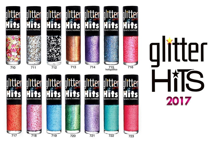 Esmaltes Glitter Hits 2017