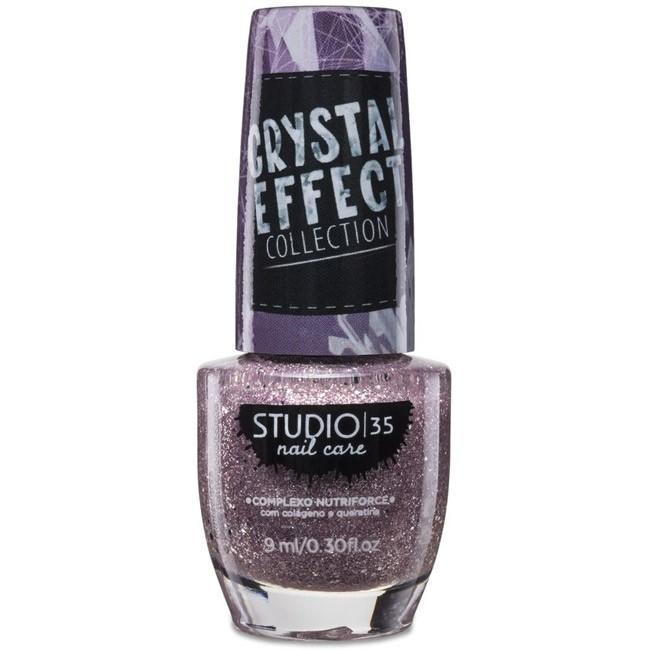 Esmalte Studio 35 #Lacrei Coleção Crystal Effect