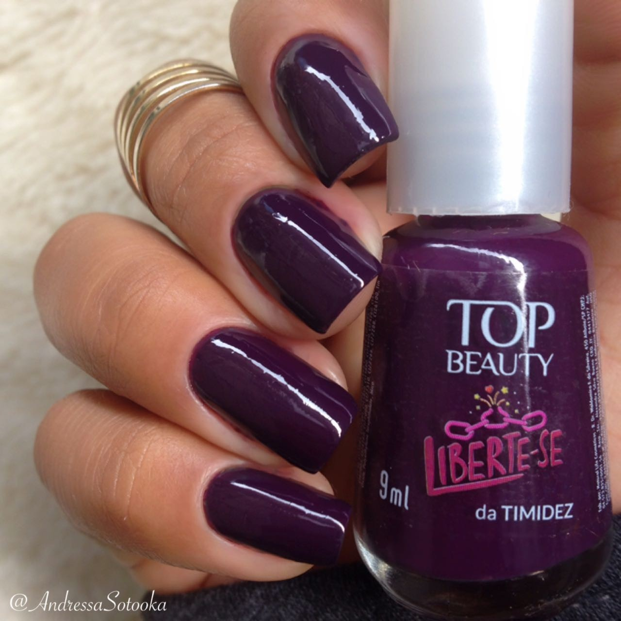Esmalte Top Beauty Liberte-se da Timidez