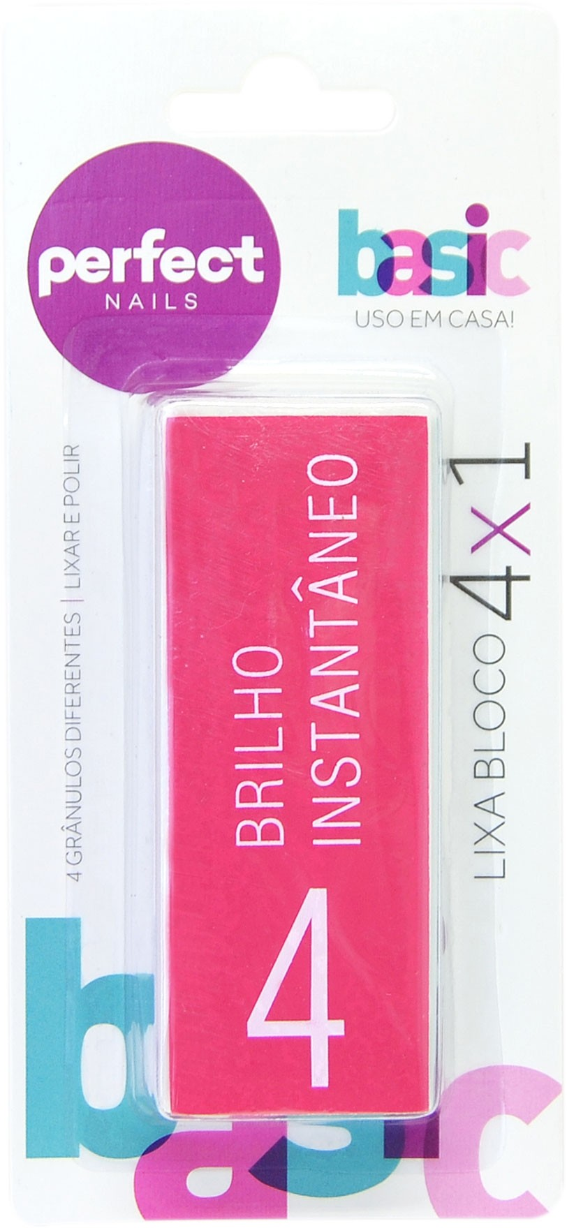 Lixa Bloco 4x1 Perfect Nails
