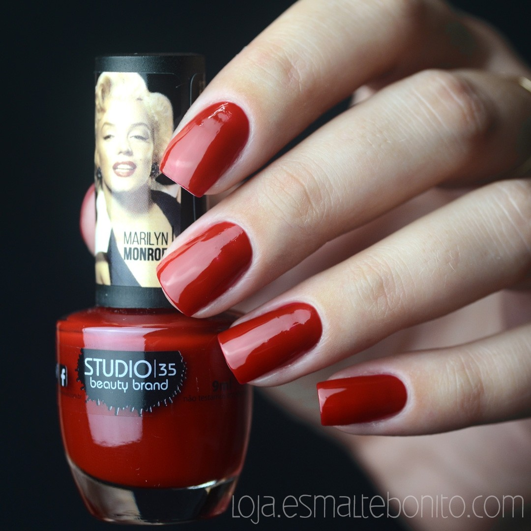 Esmalte Studio 35 #LoiraDiva Coleção Marilyn Monroe