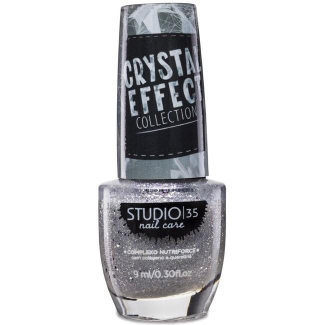 Esmalte Studio 35 #LuadeCristal Coleção Crystal Effect
