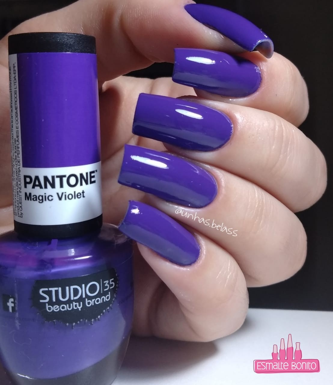 Esmalte Studio 35 Magic Violet Coleção Pantone