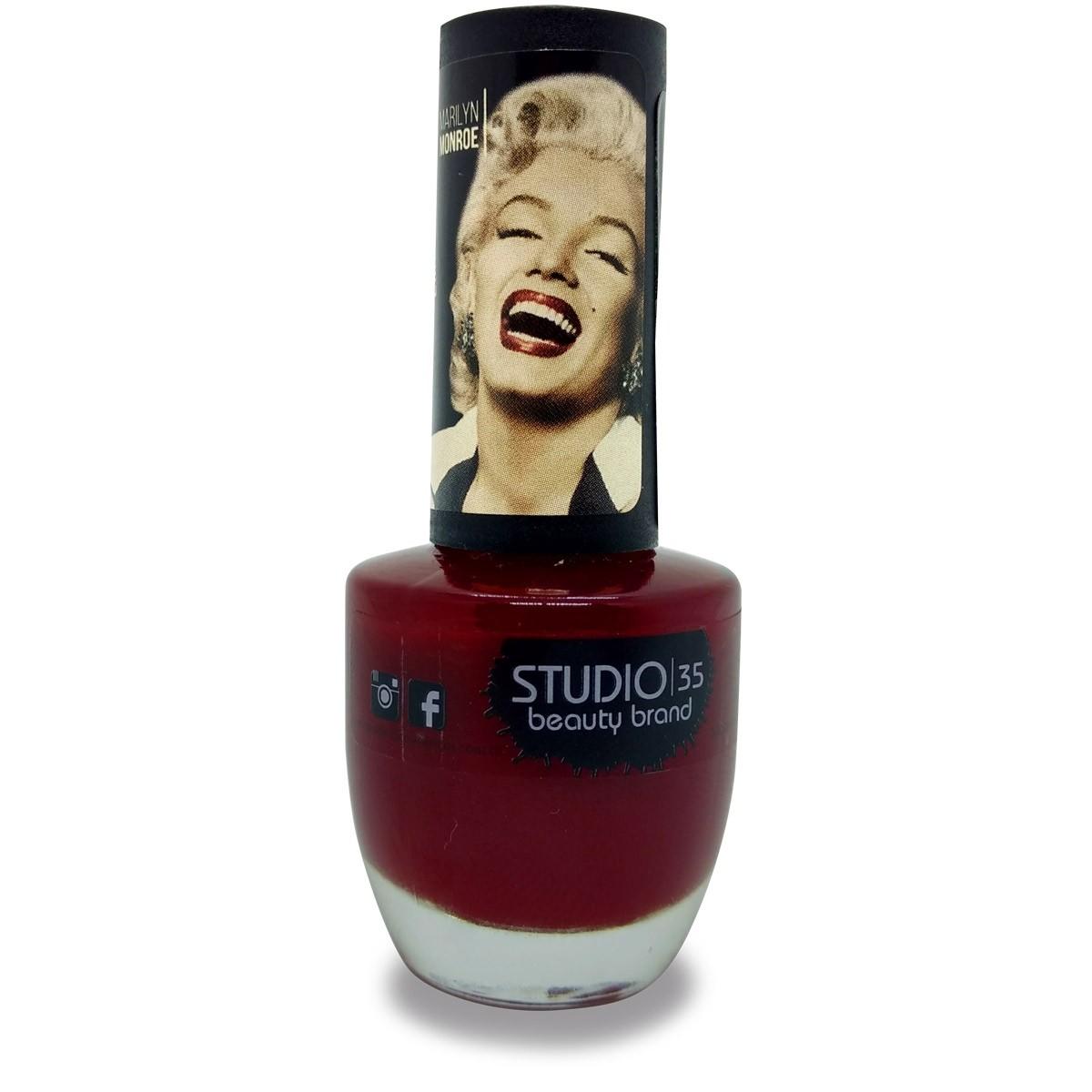 Esmalte Studio 35 #ParabensPraVoce Coleção Marilyn Monroe