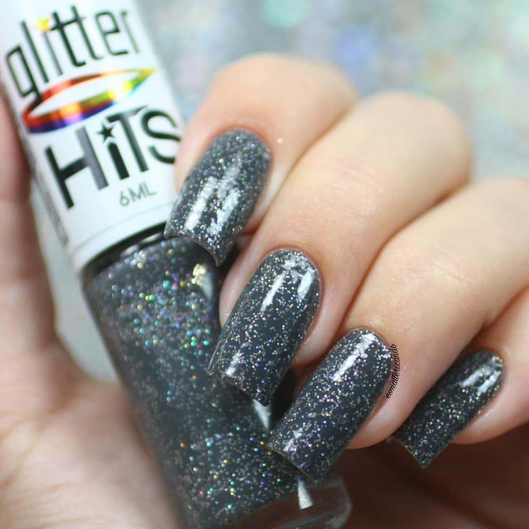 Esmalte Hits Pegasus Glitter Holográfico