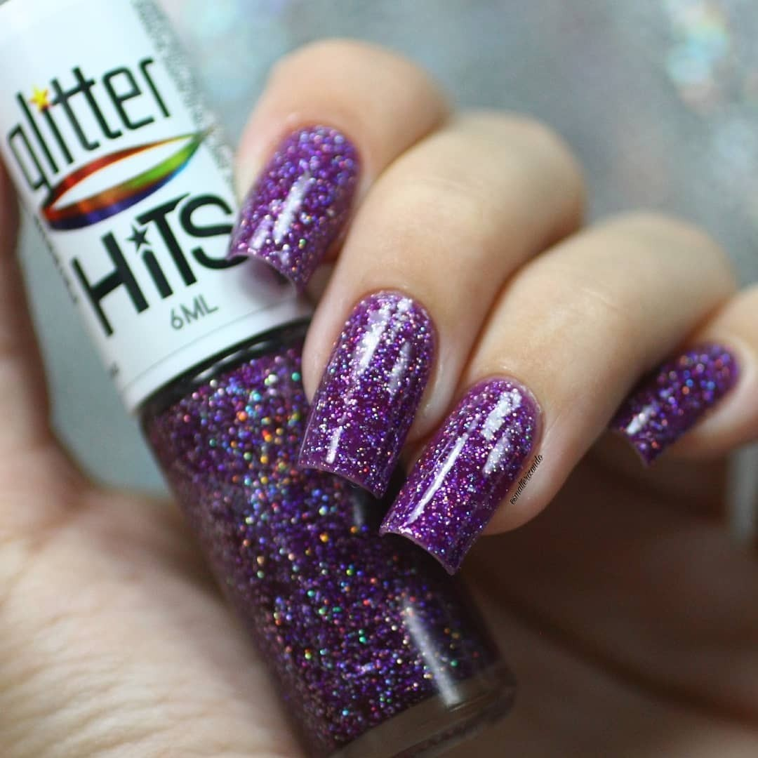 Esmalte Hits Perseus Glitter Holográfico