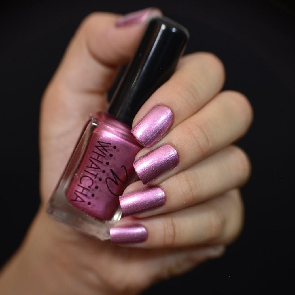 Esmalte Whatcha para Carimbo Pink Satin