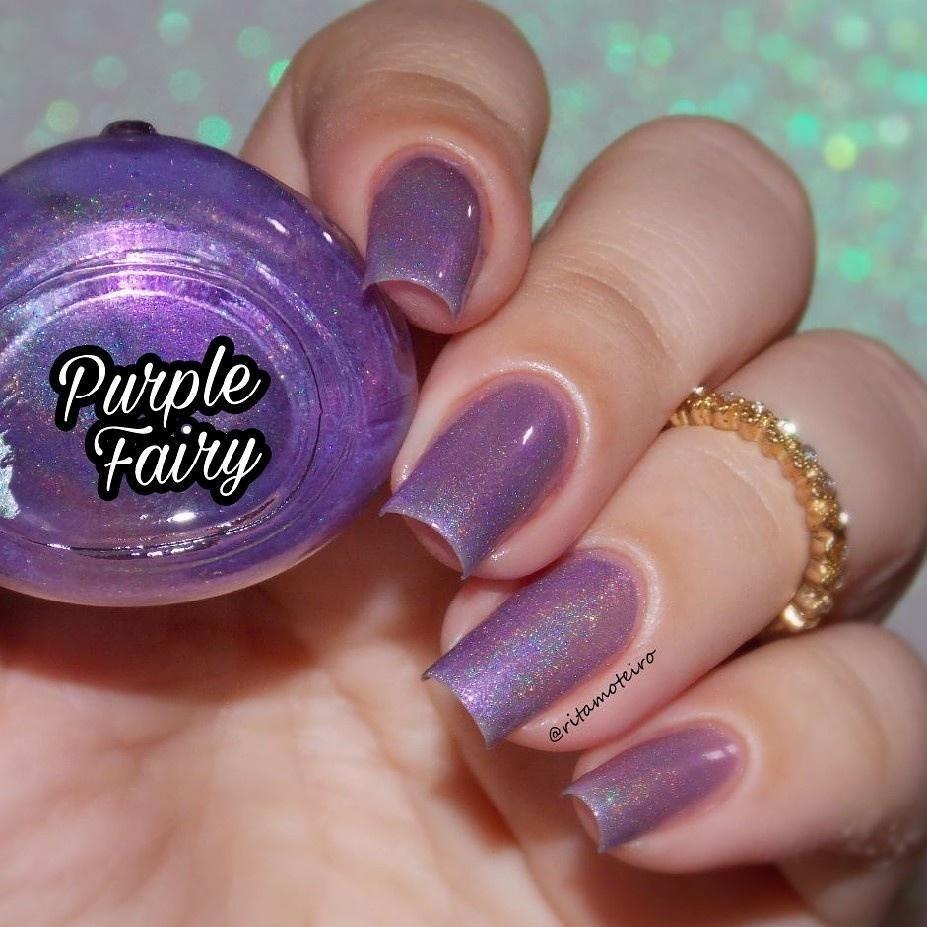Esmalte By Vanessa Molina Cat Fairy Prisme Purple