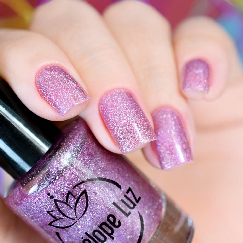 Esmalte Penélope Luz Rose Quartz Coleção Jewels on Your Nails