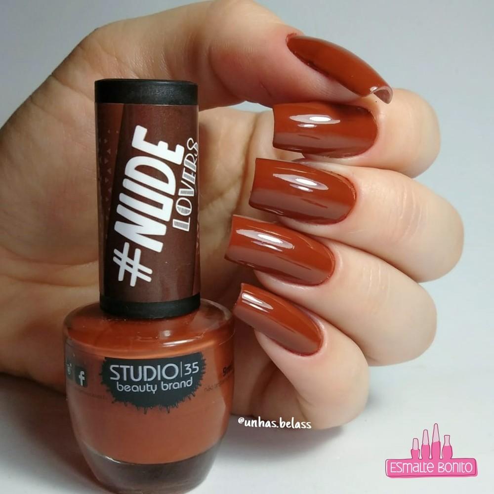 Esmalte Studio 35 #SantaDoPauOco Coleção #NudeLovers