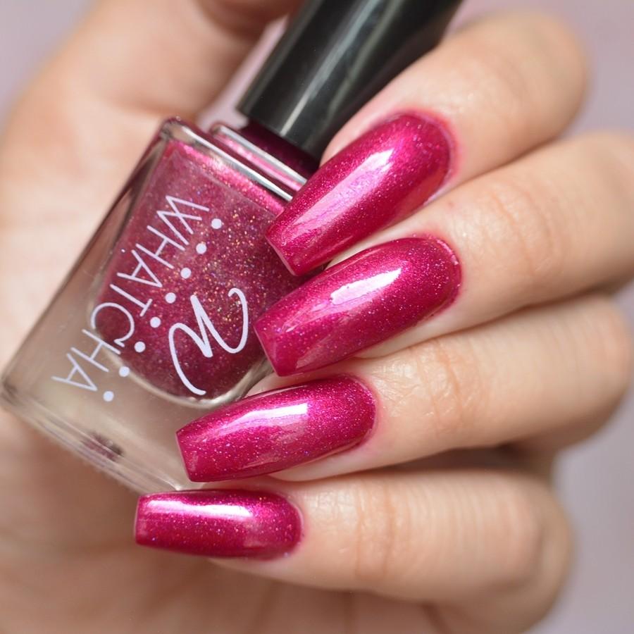 Esmalte Whatcha Sensual 5free Coleção Outubro Rosa