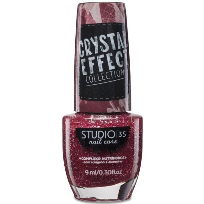 Esmalte Studio 35 #Sensualizando Coleção Crystal Effect