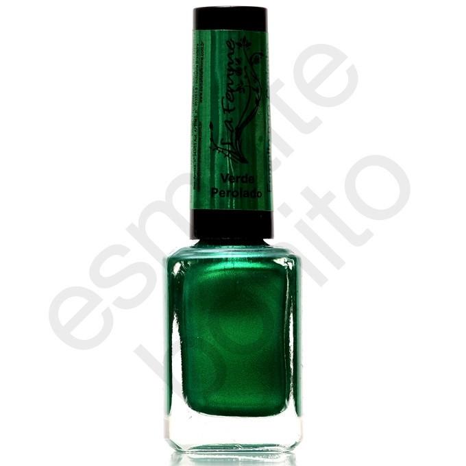 Esmalte para Carimbo La Femme Verde Perolado 9ml