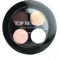 Quarteto de Sombras 01 Top Beauty 4,5g
