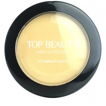 Pó Compacto Matte Bege 02 Top Beauty 10g