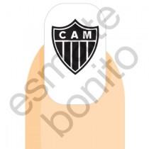 Adesivo de Unha Atlético Mineiro