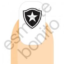 Adesivo de Unha Botafogo