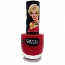 Esmalte Studio 35 #50TonsDeVermelho Coleção Marilyn Monroe