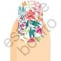 Adesivo de Unhas Floral Bonito