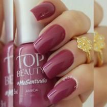 Esmalte Top Beauty Amada Cremoso 9ml