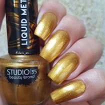 Esmalte Studio 35 #AnoIncrível Coleção Liquid Metal