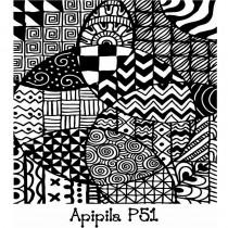 Placa para Carimbo Apipila P51