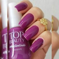 Esmalte Top Beauty Atraente Cremoso 9ml
