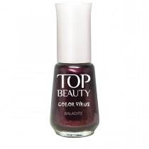 Esmalte Top Beauty Baladite Cremoso com Shimmer 9ml