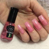Esmalte Top Beauty Big Bang Ultimate 3D