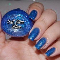 Esmalte By Vanessa Molina Cat Star Galaxy Blue