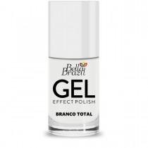 Esmalte Bella Brazil Gel Effect Branco Total