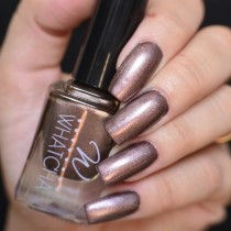 Esmalte Whatcha para Carimbo Brown Satin