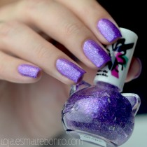 Esmalte By Vanessa Molina Cat Star Galaxy Grape