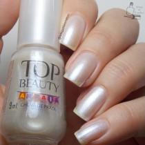 Esmalte Top Beauty Chuva de Prata Cintilante Coleção Arraiá 9ml