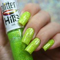 Esmalte Hits Columba Glitter Holográfico