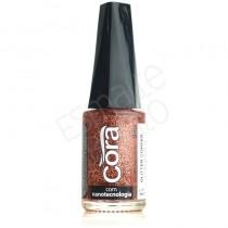 Esmalte Cora Copper Glitter