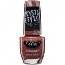 Esmalte Studio 35 #CrushVaiPirar Coleção Crystal Effect
