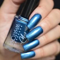Esmalte Whatcha para Carimbo Dark Blue Satin