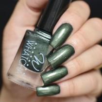 Esmalte Whatcha para Carimbo Dark Green Satin