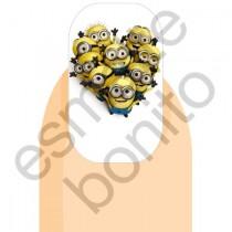 Adesivo de Unhas Minions