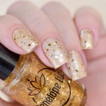 Esmalte Penélope Luz Enchanted Gold Coleção Magic Touch