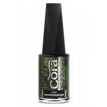 Esmalte Cora Big Bang Top Glitter