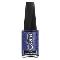 Esmalte Cora Earth Top Glitter